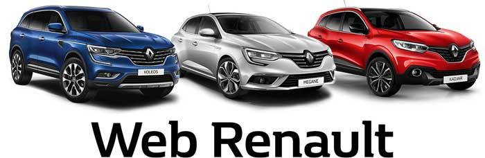 Web agencia Renault y Coches Seminuevos